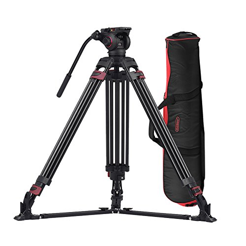 Andoer Miliboo MTT609A Photography 3 Sections Tripod Stand A