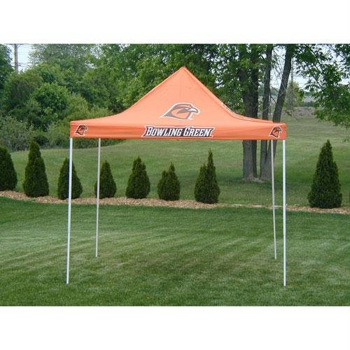 Rivalry Sports Team Logo Design Ultimate 9'x 9' Bowling Green Tailgate (Ultimate Tailgate Tent Canopy)