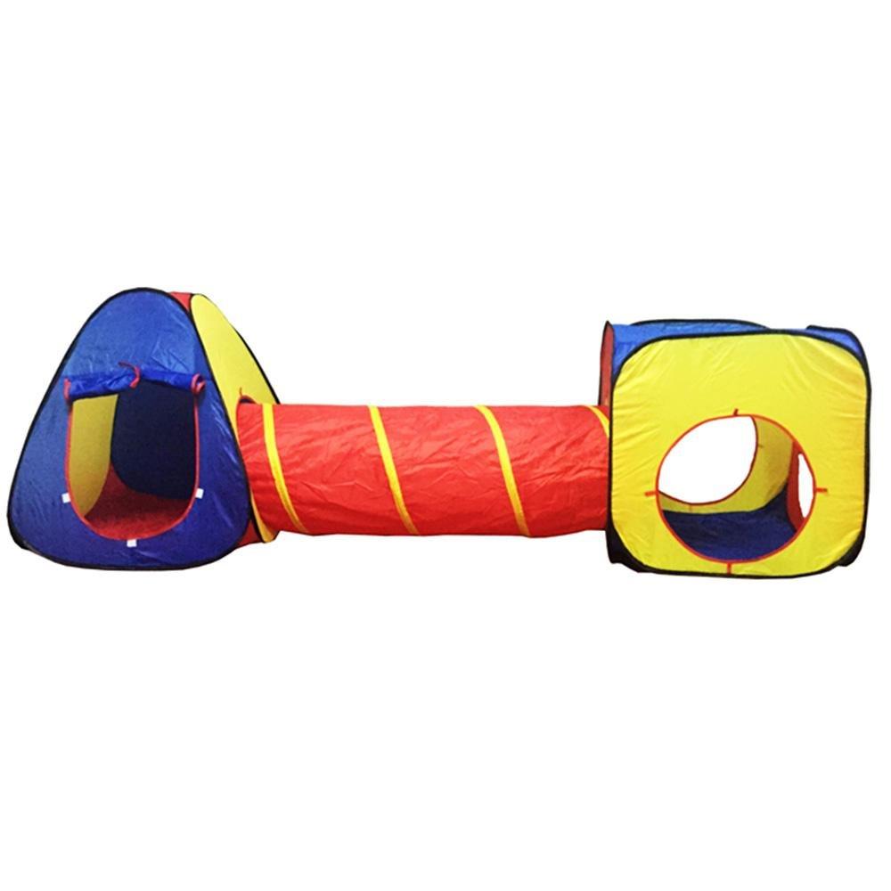 Volwco キッズテント インドアトンネル 子供用プレイテント ボールピット 幼児用テント キッズポップアップテント 男の子 女の子 おもちゃ アウトドア プレイハウス B07RBV4FLM