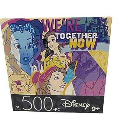 500 Piece Puzzle- Two Pack Bundle- Disney - Frozen II Elsa Cinderella- Original- 14