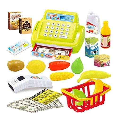 TOYMYTOY Computadora portátil de la calculadora de Pretend Play, Juguete de la Caja registradora de los niños (al Azar)