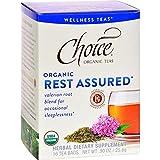Choice Organic Teas Tea Bag, Rest Assured, 16 Count For Sale
