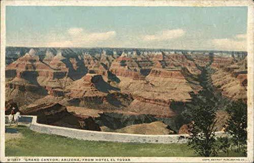 From Hotel El Tovar Grand Canyon National Park, Arizona Original Vintage Postcard from CardCow Vintage Postcards