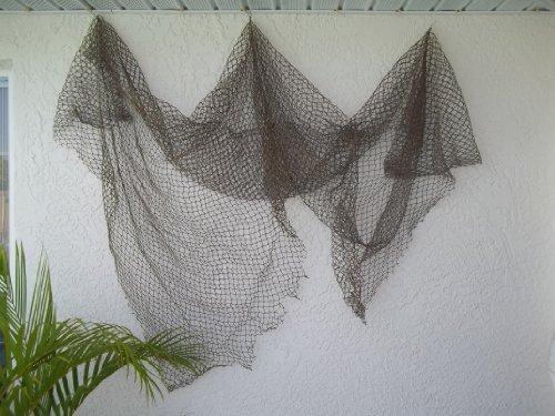 Fish Net Nautical Fishing Decor Large Mesh by TikiZone ()