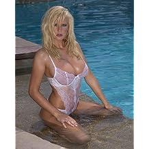 Michelle Marsh Super Busty Blonde See Thru Hot 001 8x10 PHOTO
