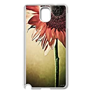 Colorful Sunflower Pattern Hard Case Cover Back Skin Protector for Samsung Galaxy Case Note 4 HSL459528