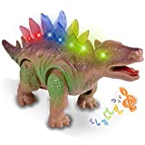 Dino Robot Dinosaur Toy Walking Dinosaur Games Moving Dinosaur Toys with Lights and Sounds for Toddlers by Magical Imaginary(Random Color)