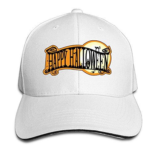 ACMIRAN Halloween Adjustable Hats One Size White