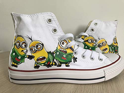 - Customised Hi Tops Shoes Custom Painted Shoes Sneakers Chuck Taylors FREE SHPPING