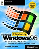 Introducing Microsoft Windows 98, Russell Borland and John Ross, 1572319208
