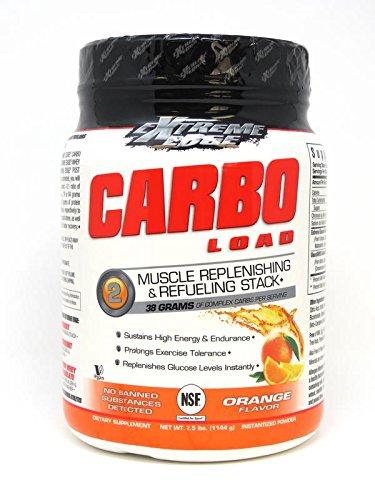 Edge Powder - Bluebonnet Nutrition Extreme Edge Carbo Load Powder, Orange Flavor, 2.5 Pound