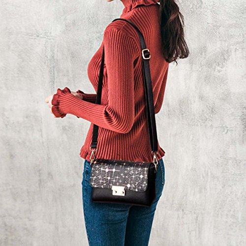 Sac à Rouge Sac Nouveau Messenger ins Noir NICOLE Casual Fashion amp; DORIS bandoulière carré Sac Petit Femme Sac Femelle A PcpzApXqYB