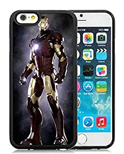 Beautiful Designed Cover Case With Iron man 22 Black Phone Case for iPhone 6 4.7 inch