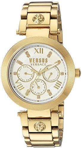 Versus by Versace Women's 'Camden Market' Quartz Stainless Steel and Gold Plated Casual Watch(Model: SCA030016)