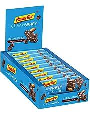 Sonderangebot: PowerBar Clean Whey  Protein Riegel Eiweiß-Riegel (ohne Schokoladenüberzug Fitness-Riegel) - Chocolate-Brownie (18 x 60g) und mehr