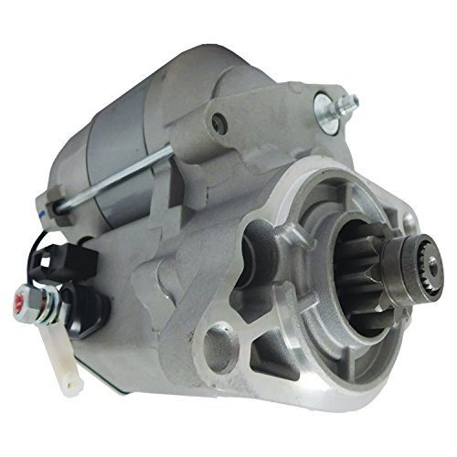 NEW STARTER FITS BOBCAT UTILITY VEHICLE UTV 2200S 2300, CLUB CAR KUBOTA DIESEL 2004-2010 1E32163011