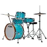 Tama-Club-Jam-4-piece-Shell-Pack-Aqua-Blue