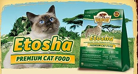 Wildcat Cat Etosha 3 kg, Comida seca, Comida para gatos: Amazon.es: Productos para mascotas