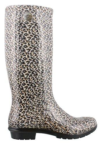 UGG Womens Shaye Leopard Boot Black Leopard Size 5 (Leopard Ugg)