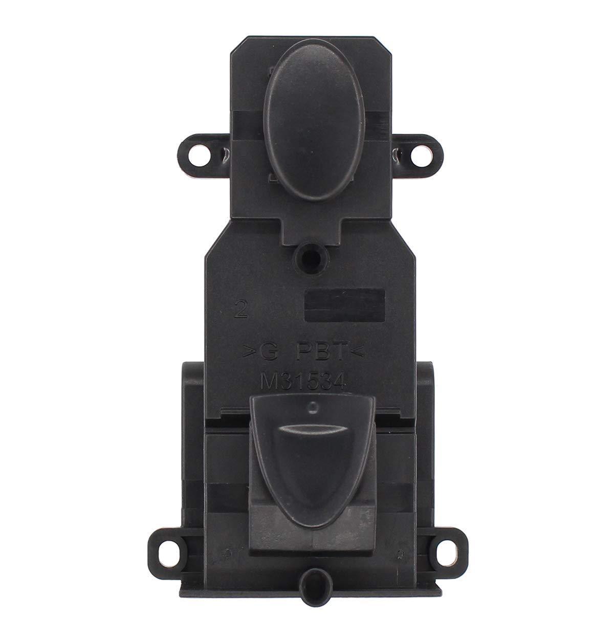 NewYall Front Right Passenger Side Power Door Lock /& Window Switch