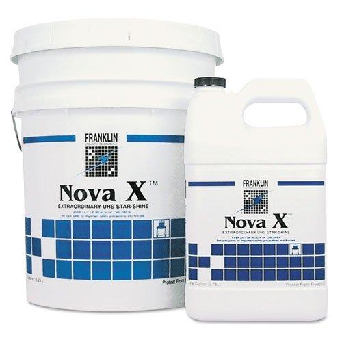 Franklin Cleaning Tech F465222 Nova X Extraordinary UHS Star-Shine Floor Finish Liquid 1 gal. Bottle