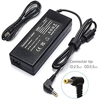 Amazon.com: Laptop Charger Adapter Power Supply Cable for ...