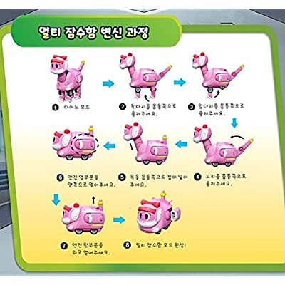 GoGo Dino VIKI Dinosaur Expedition, Transform dinosaurs into a car, Brachiosaurus, VIKI: Toys & Games