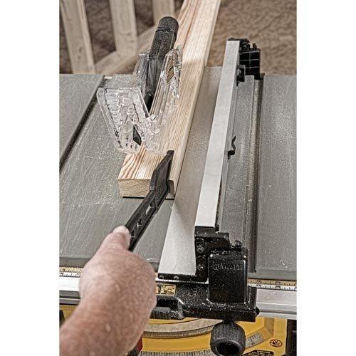 Image of Dewalt DWE7491RS cutting Pine