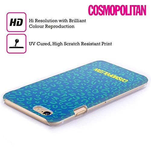 Official Cosmopolitan Blue Leopard Animal Skin Patterns Hard Back Case for Apple iPhone 5c