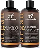 ArtNaturals Moroccan Argan Oil Hair Loss Shampoo & Conditioner Set - Hair Regrowth