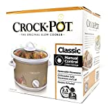 Limited Edition Classic Crock Pot Slow Cooker 2.5 Quart (Pumpkin)
