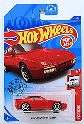Hot Wheels Porsche 944 Turbo Red 47//250 1//64