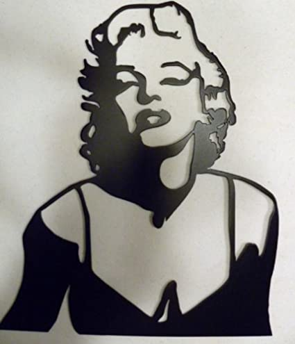 Marilyn Monroe Home Theater Decor Metal Wall Art