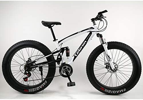 YIKUI Bicicleta de montaña, Rueda de Amortiguador de 24/26 ...