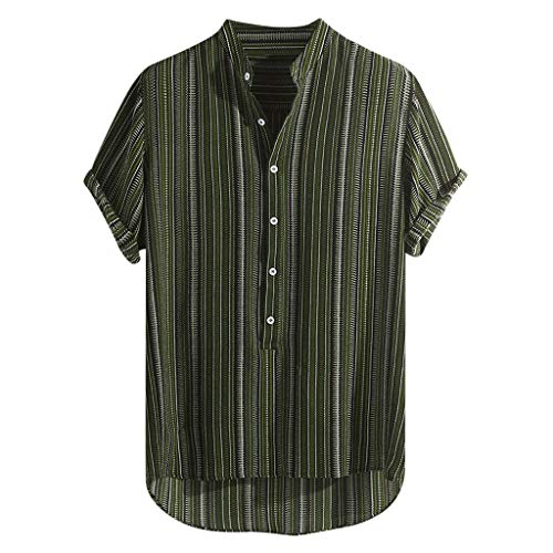 JJLIKER Hawaiian Shirts for Men Short Sleeve Regular