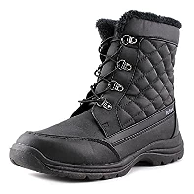 Amazon.com | Totes Womens Troy Snow Boot | Waterproof Soft
