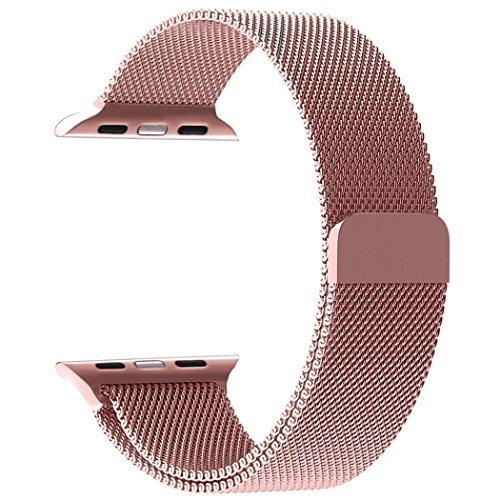 Cheap Smart Watch Bands Band for Apple Watch 38mm 42mm Replacement with Magnetic Closure Clasp for..