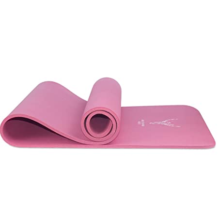 Amazon.com: Westcharm - Esterilla de yoga con líneas de ...