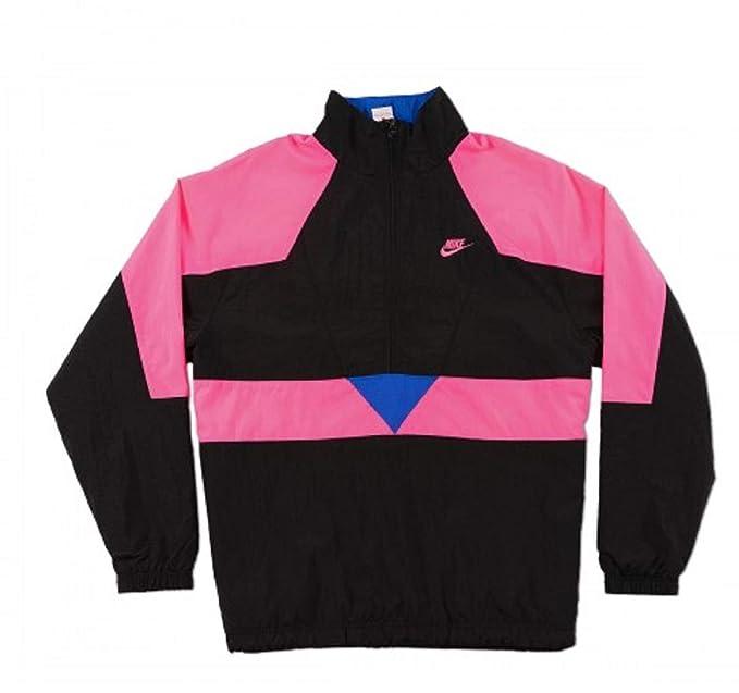 636929aeb40f0 Nike Mens M NSW Woven VW JKT AJ2299-010_L - Black/Hyper Pink/Hyper ...