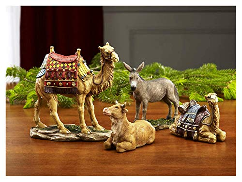 Christmas Nativity Animal Figurines (Stable Nativity Small)