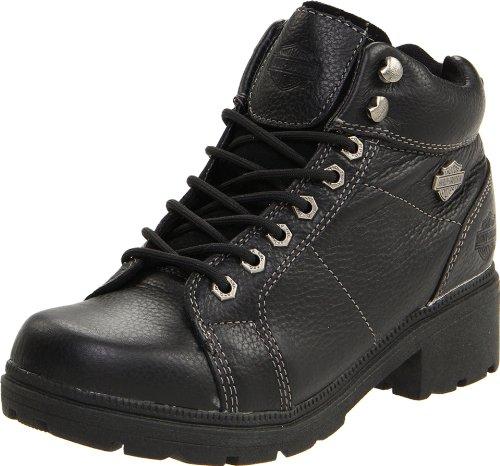 "Harley-Davidson Women's Tyler 6"" Boot,Black,6 M"