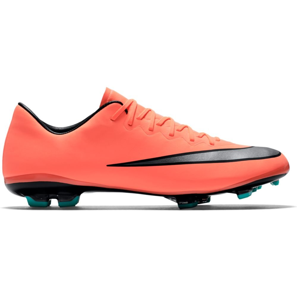 NIKE Jr. Mercurial Vapor X FG Soccer Cleat (Bright Mango) SZ. 5Y