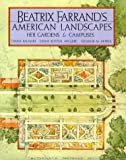 Beatrix Farrand's American Landscapes, Diana Balmori and Diane Kostial-McGuire, 0898310032