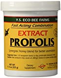 YS Eco Bee Farms Propolis Extract in Honey 11.4 oz jar