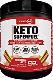 Cheap Keto AF Superfuel – Exogenous Ketones. BHB Salts and C8 Triglycerides (MCT Oil). Increase Performance, Ease into Ketosis + Enhance Mental Focus. Cinnamon Latte, Great in Coffee. Non GMO, Gluten Free