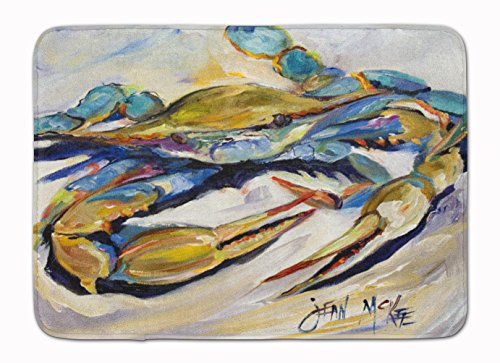 Carolines-Treasures-JMK1092RUG-Blue-Crab-Floor-Mat-19-x-27-Multicolor