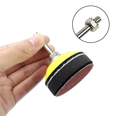 1 INCH 1 inch//25mm Sanding Discs Pad,100pcs 60-2000 Grit Sandpapers with 1//8 Shank Backing Pad for Drill Grinder Rotary Tools