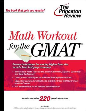 GMAT Math Workout (Princeton Review Series)