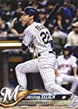 2018 Topps Update and Highlights Baseball Series #US248 Christian Yelich Milwaukee Brewers Official MLB Trading Card