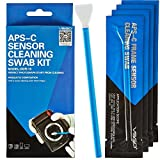 VSGO Professional Camera Sensor Cleaning Kit APS-C DSLR Sensor Cleaning Swabs For SLR Digital Cameras Cleaning - 10 Pieces